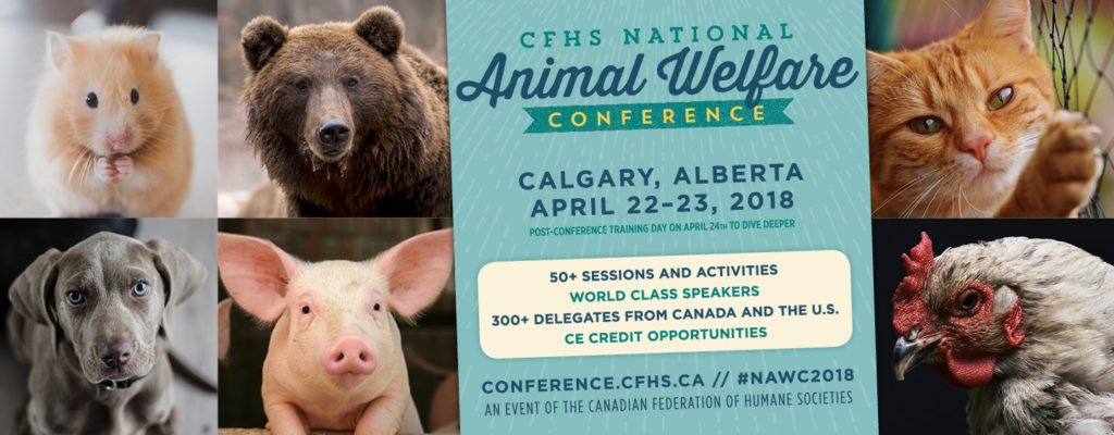 Humane Canada's 2018 National Animal Welfare Conference